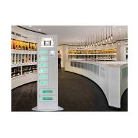 Wholesale Slim Design Cell Phone Charging Station Kiosk Quick Charge with Advertising Screen from china suppliers