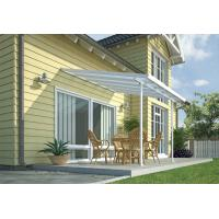 Buy cheap Aluminium Patio Cover / Metal Garden Pergola For Home / Veranda 19 ' x 10 ' Ft from wholesalers