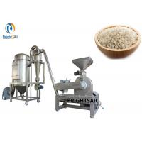 China Grain Powder Pin Mill Machine Rice Wheat Flour Milling Industry With CE on sale