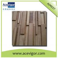 Wholesale Solid wood mosaic antique wall panel for decoration from china suppliers