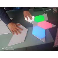 Buy cheap ULGalaxy splite joint lighting free combination smart controll RGB color free from wholesalers