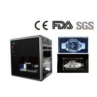 Wholesale 3D Crystal Glass Laser Engraving Machine , Middle Size Crystal Glass Picture Engraving Unit from china suppliers