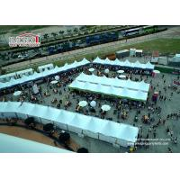 Buy cheap White Event Pagoda Gazebo Canopy Tent , Aluminum Frame Removable Equipment Marquee for Ramadan from wholesalers