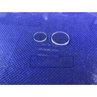 Colorless Transparent Sapphire Optical Windows , Sapphire Glass Lens For Phone