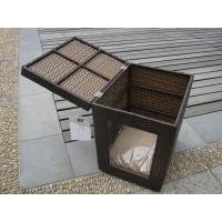 Wholesale Outdoor Garden Wicker Pet Bed Comfortable Pet House For Dog / Cat from china suppliers