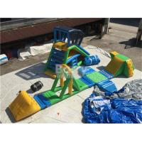 China Commercial giant aquapark inflatable floating water park , Inflatable Water Park for pool on sale
