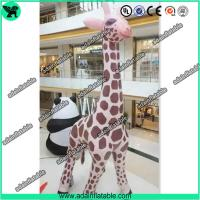 Wholesale 6m High Inflatable Giraffe,Inflatable Giraffe Cartoon, Giraffe Animal Inflatable from china suppliers