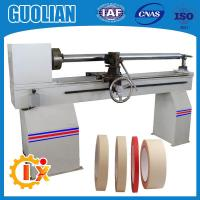 Wholesale GL-706 Hot selling pvc electric tape jumbo roll cutting machine from china suppliers