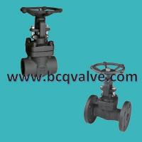 Wholesale inside screw/butt welded CLASS800 forged steel gate valve from china suppliers