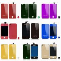 Wholesale New! For iphone 4 lcd assembly color and electroplating with back cover from china suppliers