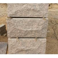 Wholesale Rose Granite Mushroom Stones Pillar/Column Wall Stone Exterior Stone Cladding Landscaping Stone from china suppliers