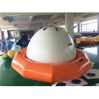 Wholesale Double-Tripple Stitch Inflatable Water Toys For Summer , Blow Up Satumn UFO from china suppliers