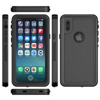 Wholesale Waterproof IPX8 Mobile Phone Protective Cases Black Color For IPhone X from china suppliers