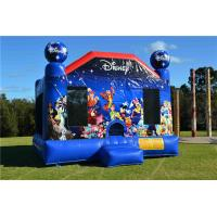 Wholesale Durable Toddler Inflatable Bouncer , Outdoor Commercial World Disney Jumping Castle from china suppliers