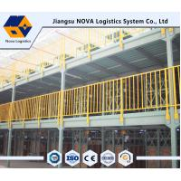 Wholesale Q235b Durable Steel Multi Tier Mezzanine Rack With Long Operating Life from china suppliers