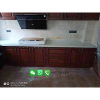 China Foshan Weimeisi white marble stone kitchen countertop/vanity top/island top on sale