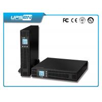 Buy cheap High Frequency DC AC Inverter LCD Display Rack Mount With Battery Pack from Wholesalers