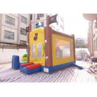 Quality Theme Park Inflatable Combo Toddlers Pirate Ship Bouncy Castle For Rent for sale