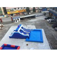 Buy cheap Blue Wave Ultimate Inflatable Backyard Water Park With Pool Customzied Size from wholesalers