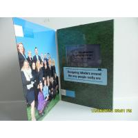 Wholesale Best Matt / Glossy Lamination LCD Birthday Card ,  LCD Video Brochure With Pocket from china suppliers