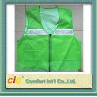 Wholesale High Visibility Protective Clothing Reflective Safety Jackets , Custom Safety Vests from china suppliers