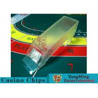 Wholesale Poker Game Necessary Casino Card Shoe Using Thick High - Density Plexiglass from china suppliers