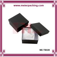Wholesale premium jewelry paper box/small black paper bracelet box ME-TB028 from china suppliers