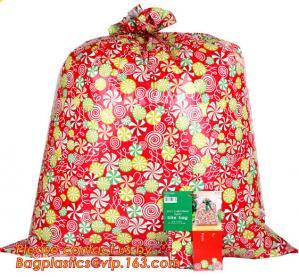 Wholesale HDPE/LDPE plastic gift bag, fashion PE BIKE GIFT BAG FOR CHRISTMAS, christmas luxury gift bag from china suppliers