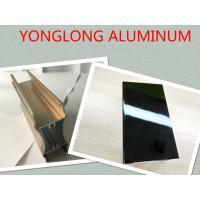 Wholesale Electrophoresis Aluminum Window Screen Frame , 6060 6061 6063  Tile Trim from china suppliers