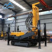Wholesale China Made FY200 Tracked Mobile Pneumatic Impact Working Water Well Drilling Rig from china suppliers