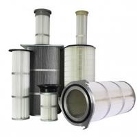 Wholesale Dust Collector Industrial Air Filter Cartridge Waterproofing Finishing Treatment from china suppliers