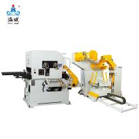 China 3 IN 1 DECOILER STRAIGHTENER FEEDER NCHW2B (STOCK THICKNESS 0.5~4.5MM) for sale