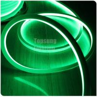 Buy cheap AC220V flat top view neon led tube 2835 SMD green 16*16mm square neon flex from wholesalers
