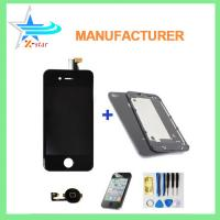 Wholesale New Replacement Full LCD Screen Digitizer Assembly for iPhone 4 White + Tools from china suppliers
