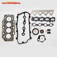 Wholesale For CHERY A1 EGO OR FACE 1.3L Engine Gasket SQR473F 473H METAL Full Gasket Set Overhaul Package 473H-10000A10A from china suppliers
