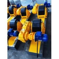 Buy cheap Conventional Turning Roll Tank Welding Rotators PU 40000kgs Driving Inverter from wholesalers