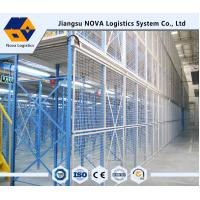 Wholesale NOVA Brand High Space Utilization Multi Tier Mezzanine Rack / Adjustable Metal Shelving from china suppliers