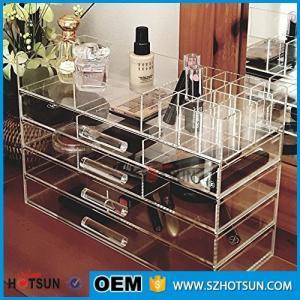Wholesale Acrylic cosmetic makeup organizer/ makeup brush display/ makeup brush holder from china suppliers
