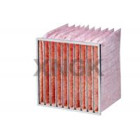 China Glass Fiber Pocket Air Filter F7 F8 F9 Efficiency Industrial Application on sale