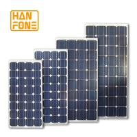 Wholesale Blue 100 Watt Solar Power Monocrystalline Silicon Solar panel For PV Systems from china suppliers