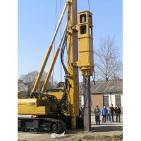 Buy cheap TH -60 Hydraulic Pile Rig Piling Machinery with Yellow Color and Sinovo Brand from Wholesalers