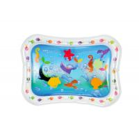 Wholesale Sea Fish Inflatable Baby Water Mat Cute Air Children Play Mat For Fun from china suppliers