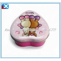 Wholesale heart-shaped mint tin can from china suppliers