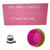 Wholesale silicone cooking mat ,silicone table mat from china suppliers
