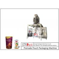 Buy cheap MCU Control Nuts Packaging Machine / Stand Up Pouch Filling Sealing Machine For from wholesalers