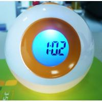 Wholesale Music Electric Digital Clocks, Colorful Light Clock, LED Light Flashing in Seven Colors from china suppliers