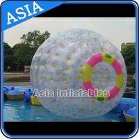 China Clear PVC / TPU Inflatable Zorb Ball with 3m Outer Diameter For Adults for sale