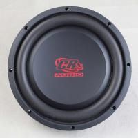 China Round Shaped Automotive Powered Subwoofer 10 inch  87.3 dB Spl 21 Litre Flexible Foam on sale