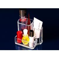 Quality Cosmetics Transparent Nail Polish Holder Portable For Washstand for sale