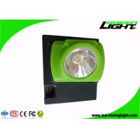 China Wireless Coal Miners Headlamp , Mining Hard Hat Lights With 15 Hours Lighting Time on sale